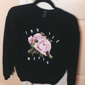 ~trouble maker crew neck